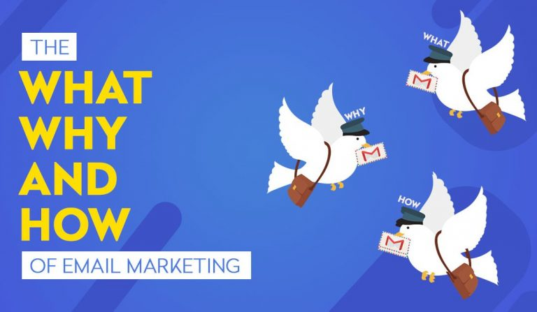 The What Why and How of E-mail marketing